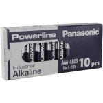 500 סוללות אלקליין - AAA 1.5V - PANASONIC POWERLINE