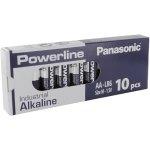 500 סוללות אלקליין - AA 1.5V - PANASONIC POWERLINE