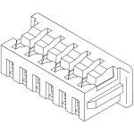 מחבר MOLEX ללחיצה לכבל - סדרת PICOBLADE - נקבה 7 מגעים