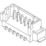 מחבר MOLEX למעגל מודפס - סדרת PICOBLADE - זכר 6 מגעים