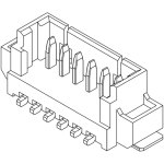 מחבר MOLEX למעגל מודפס - סדרת PICOBLADE - זכר 8 מגעים