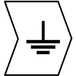 סימוניות ננעצות לכבלים - סימן הארקה - HELAGRIP - 3.5MM x 3.3MM