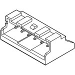 מחבר JST להלחמה למעגל מודפס לכבל - סדרת PA - זכר 8 מגעים