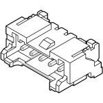 מחבר JST להלחמה למעגל מודפס לכבל - סדרת PA - זכר 4 מגעים