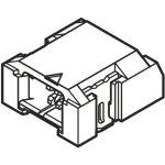 מחבר JST להלחמה למעגל מודפס - סדרת LEB - נקבה 1 מגעים