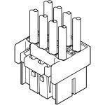 מחבר JST ללחיצה לכבל - סדרת PSI - נקבה 10 מגעים
