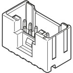 מחבר JST להלחמה למעגל מודפס - סדרת PUD - זכר 8 מגעים