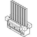 מחבר JST ללחיצה לכבל - סדרת XAD - נקבה 12 מגעים
