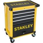 עגלת כלים מפלדה - 4 מגירות + תא אחסון - STANLEY STMT1-74305
