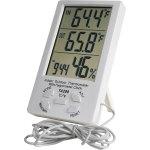 מד טמפרטורה / לחות דיגיטלי - IN / OUT WEATHER STATION TA298