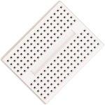 לוח ניסוי קטן לאלקטרוניקה (מטריצה) - 45X34MM - לבן
