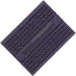 לוח ניסוי קטן לאלקטרוניקה (מטריצה) - 45X34MM - כחול
