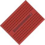 לוח ניסוי קטן לאלקטרוניקה (מטריצה) - 45X34MM - אדום