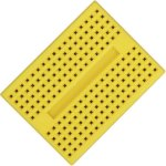 לוח ניסוי קטן לאלקטרוניקה (מטריצה) - 45X34MM - צהוב