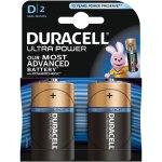 זוג סוללות אלקליין - D 1.5V - DURACELL ULTRA ALKALINE