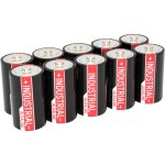 10 סוללות אלקליין תעשיות - ANSMANN - D 1.5V
