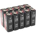 10 סוללות אלקליין תעשיות - ANSMANN - 9V