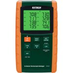 אוגר נתונים - טמפרטורה , 12 ערוצים, EXTECH TM500