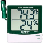 מד טמפרטורה ולחות דיגיטלי - EXTECH 445715 - IN/OUT