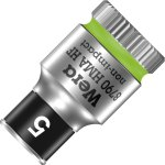 ביט בוקסה 5MM למפתח ''1/4 - WERA ZYKLOP 8790