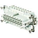מחבר HD - נקבה להברגה לכבל - 16 מגעים - HDC HE 16 FS