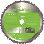 להב מסור - EVOLUTION FURY TCT 255MM