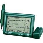 מד טמפרטורה ולחות דיגיטלי עם הקלטה - EXTECH RH520A-220