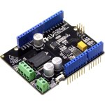 כרטיס הרחבה - SEEED STUDIO ARDUINO 4A MOTOR SHIELD
