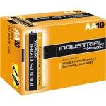 10 סוללות אלקליין - AA 1.5V - DURACELL INDUSTRIAL ALKALINE