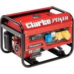 גנרטור מקצועי - CLARKE PG3800DV - 3000W