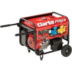 גנרטור מקצועי - CLARKE PG6500DVES - 5500W