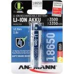 סוללת ליתיום נטענת - ANSMANN 18650 - 3.6V / 3.5AH