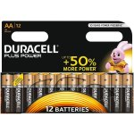 12 סוללות אלקליין - AA 1.5V - DURACELL PLUS POWER ALKALINE