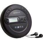 דיסקמן MP3 עם רדיו GROOV-E GV-PS210-BK - AM/FM