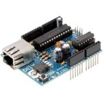 כרטיס הרחבה - ARDUINO VMA04 ETHERNET SHIELD