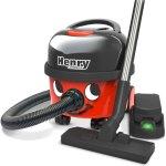 שואב אבק נטען מקצועי - NUMATIC HENRY HVB160-12 RED 1XB