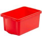 קופסת אחסון - WHAM STACK & STORE - RED - 10L