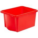 קופסת אחסון - WHAM STACK & STORE - RED - 30L