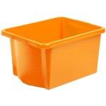 קופסת אחסון - WHAM STACK & STORE - ORANGE - 30L