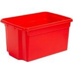 קופסת אחסון - WHAM STACK & STORE - RED - 50L