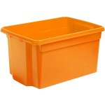 קופסת אחסון - WHAM STACK & STORE - ORANGE - 50L