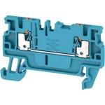 מחבר טרמינל בלוק לפס דין - 2WAY , 1.5MM² , 17.5A , 500V , BLUE