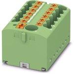 מחבר טרמינל בלוק - PTFIX 6/12X2,5 GN - 13 POLE , 24A , 500V