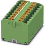 מחבר טרמינל בלוק - PTFIX 18X2,5 GN - 18 POLE , 24A , 500V