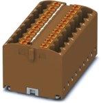 מחבר טרמינל בלוק - PTFIX 18X2,5 BN - 18 POLE , 24A , 500V