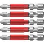 חבילת ביטים למברגה - ראש פוזידרייב - WIHA 42122 - PZ2 X 49MM