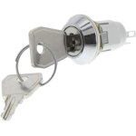 מפסק מנעול ומפתח - WRL-5-L-D-2 - DPDT - 2POS - ON/ON - 2K/P