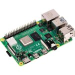 כרטיס פיתוח -  RASPBERRY PI 4 - MODEL B 4GB
