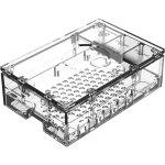 קופסת זיווד - RASPBERRY PI 4 PREMIUM CASE - CLEAR