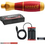 מברגת מומנט נטענת - WIHA speedE STARTER SET I